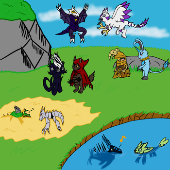 Contest: A teams meeting by Omega-Knight-X97M