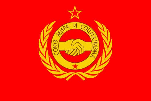 Flag of Warsaw Pact by augustin-blot-LBPS