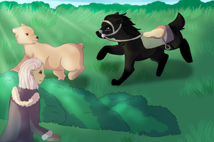 RotH: Get the bear! by Lizzara