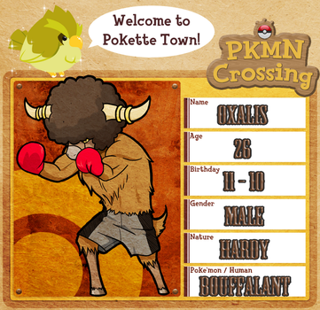 Pkmn Crossing - Oxalis by GoldenSnowfire