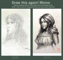 Draw this again - Lady by Sevenlole