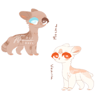 Auction Adopts - Closed by Kei-Kers