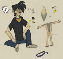 Ref: Clint by DreamGalvin
