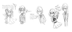 More Vicboys doodles by bubba8608
