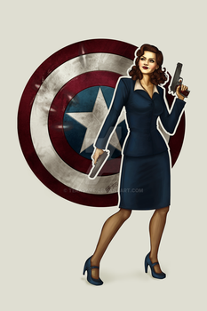 Agent Carter by tbdoll