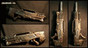 Steampunk Longshot Complete by JohnsonArmsProps