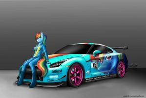 Because Racecar by SikDrift