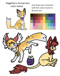 Animal Jam color meme by Magikitty