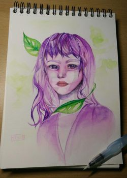 Some Watercolor test by Mufifi