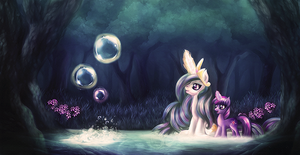 Twilights first lesson by macalaniaa