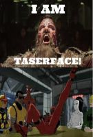 Deadpool Laughing At Taserface  by V1EWT1FUL