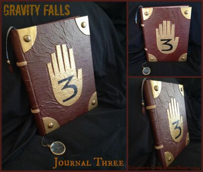 Gravity Falls Journal Three by CobblestoneHeart