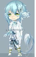 A: Feathery Adoptable [SOLD] by GalaxyAbyss
