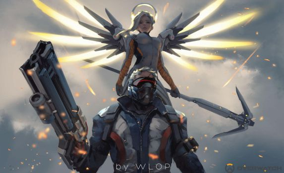 Allied by wlop