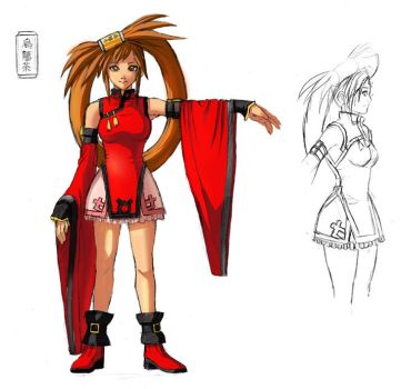 Guilty Gear: Jam Cosplay Ref. by Risachantag