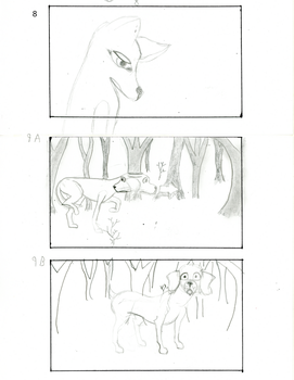 The Dog and The Wolf storyboard 5 by fanime1