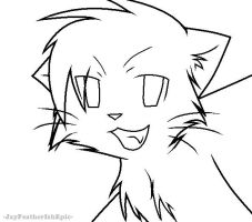 warrior cats coloring pages bluestar energy | Bluestars death line art | Warrior Cats Animation ...