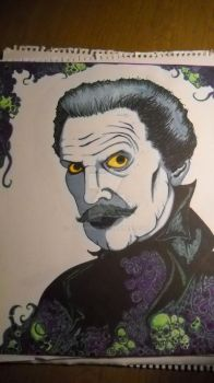 Vincent Price-Unfinished- by Acidhands