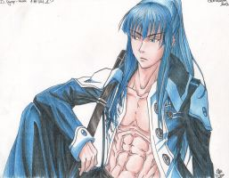 Yu Kanda - a break from mission by SixthIllusion
