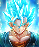 Vegito Blue by H-Battousai