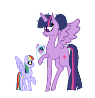 Meet your new sister, Star Zap by MlpLove4Ever