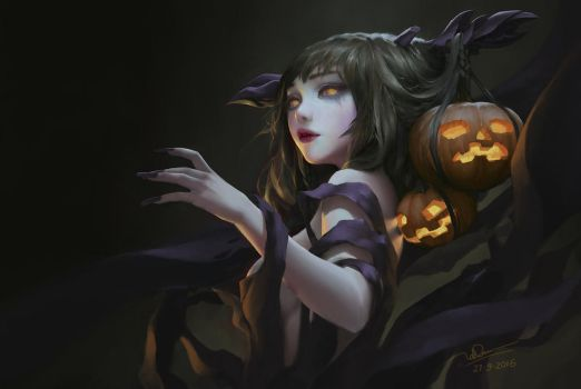 Ms Halloween by letrongdao