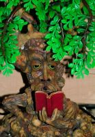the reading tree by JensStockCollection