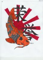 Koi of Honor by kellyINK