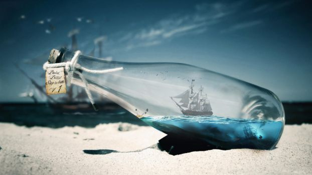 Ship in bottle V1 UPDATED by balint4