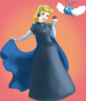 Trainer Cinderella Will Like To Battle by snoopgirl
