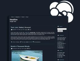 Free - Dark Wordpress Theme by demoshane