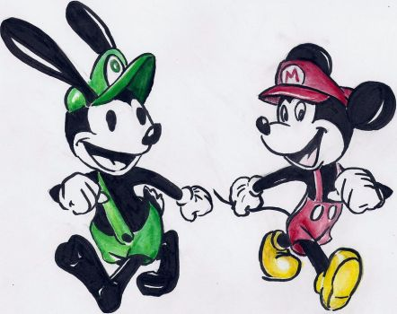 Super Disney brothers by maranianthe