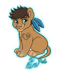 Chibi larko for twitterlu by Miss-Melis