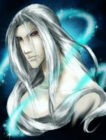 FFVII - Sephiroth by DreamingRed