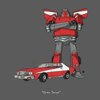 If They Could Transform - Grand Torino by darrenrawlings