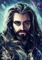 Thorin Oakenshield by manulys