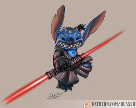July 2017 - Weekly Sketch 4 - Darth 626 by Duaxer