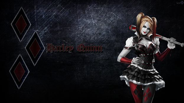 Harley Quinn Wallpaper 1 by JamesG2498