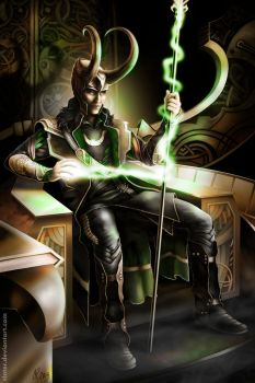 King Loki by Rinter