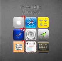 F A D E SBBadgeBG Theme by technouse