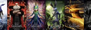 Rise of the Guardians Six Epic Character Posters by EspioArtwork31