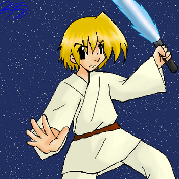 Luke Skywalker by kagomelovesinu