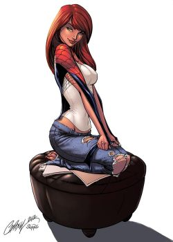 Mary Jane Watson Color by logicfun