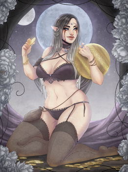 Queen Of Coins by Ryltha