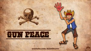 Gun Peace by AnutDraws