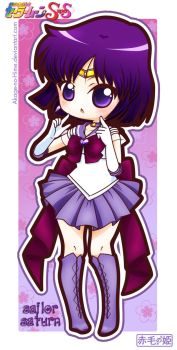 Sailor Moon Super S - Sailor Saturn by Akage-no-Hime
