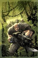 Gears of War 16 cover by Wesflo