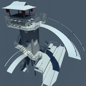 BarTowerWIP03Day by LinuxNoFear