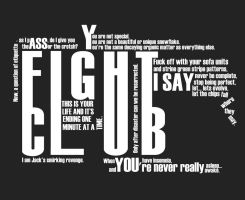 Fight Club by theWickeDesign