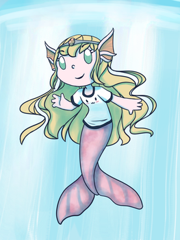 Mermaid! by ForeverMuffin